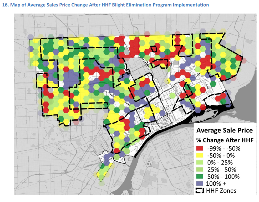 Hardest Hit Fund Demolitions Have Positive Impact on Sale Prices in Most Neighborhoods