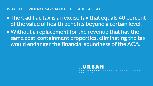 facts about the ACA Cadillac tax