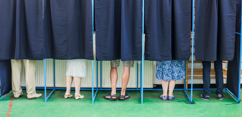 Shutterstock - voting