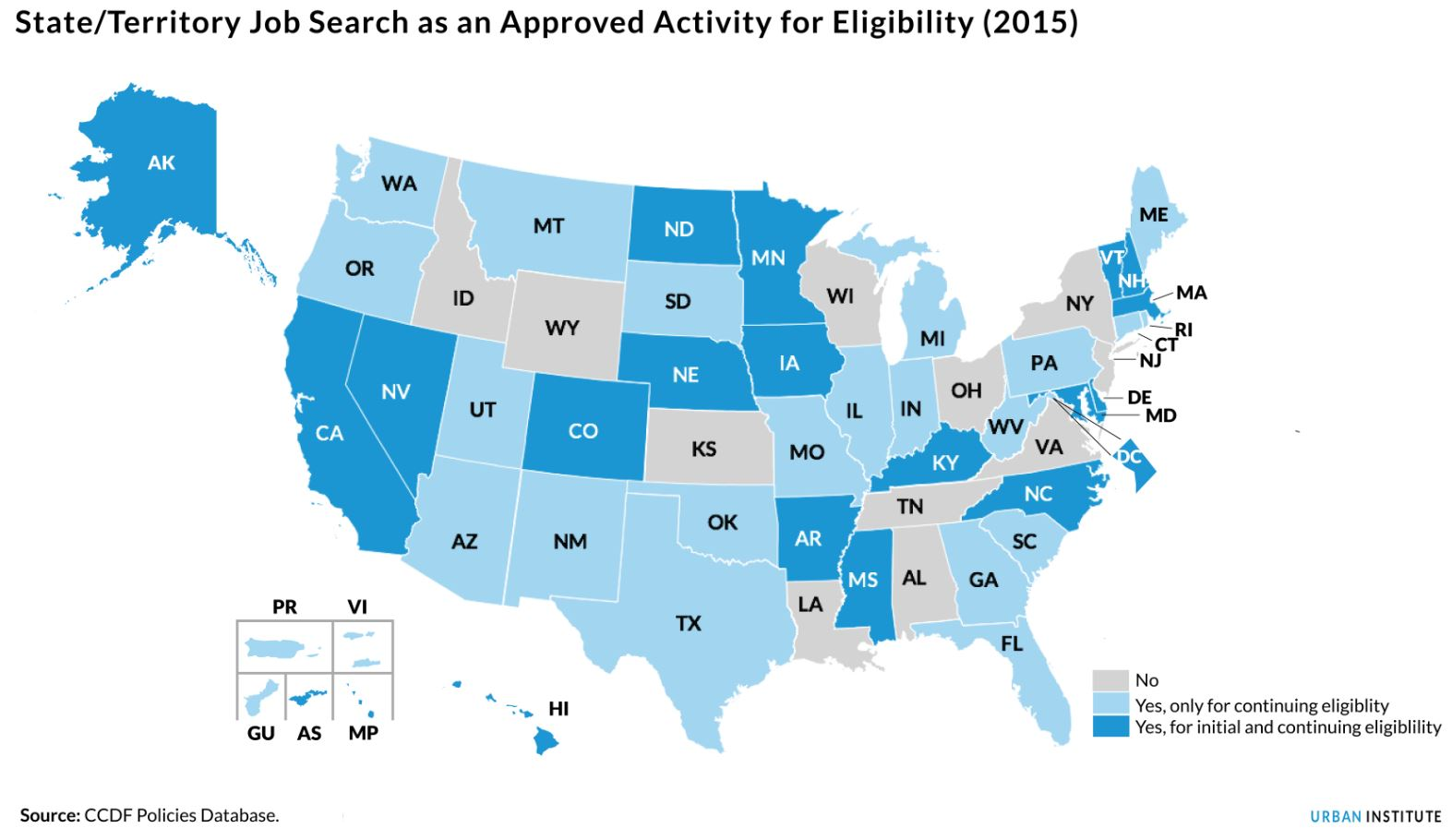 state job search as an approved activity for eligibility