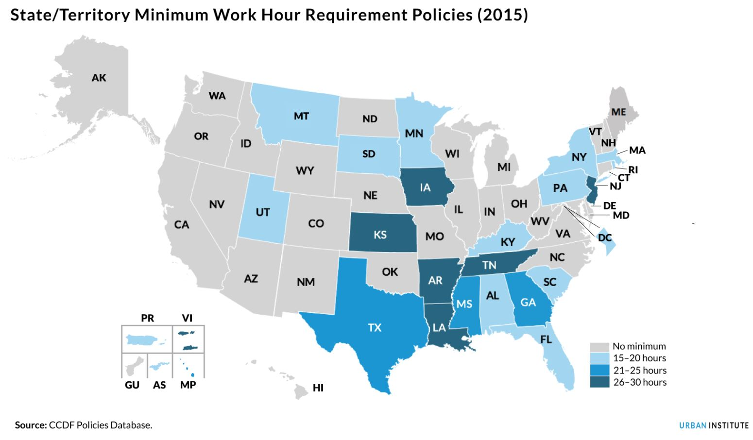 state minimum work hour requirement policies