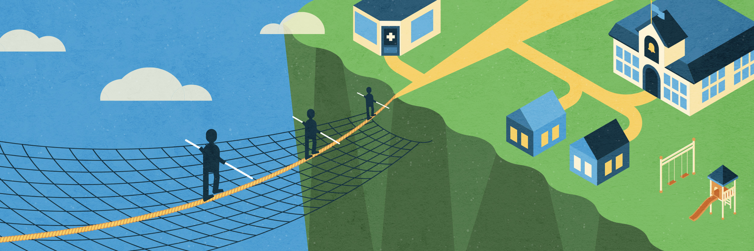 safety net illustration