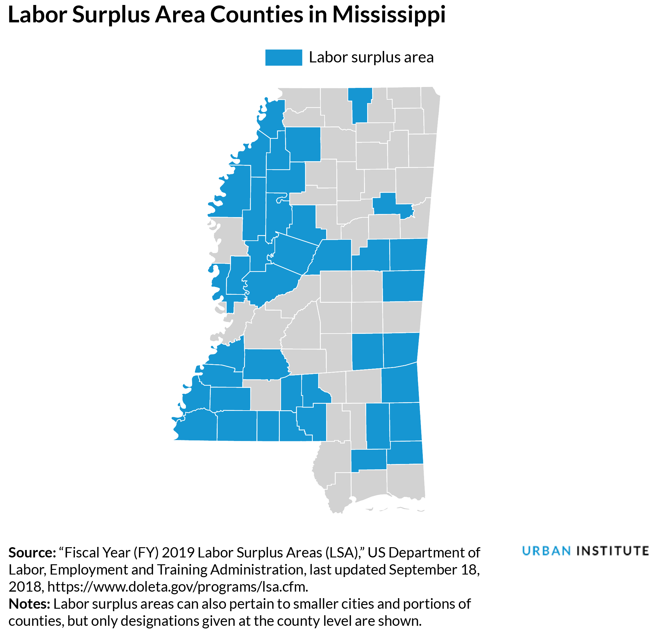 labor surplus areas