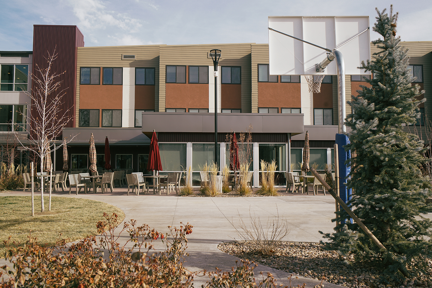 The 60-unit Sanderson Apartments, operated by Mental Health Center of Denver, opened in south Denver in August 2017.