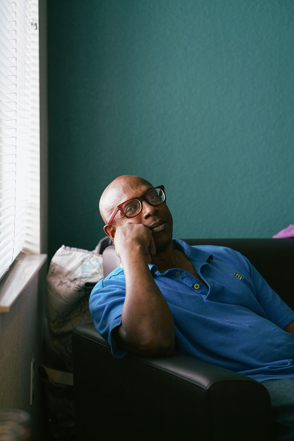 Malcolm experienced debilitating hip pain while living on the streets of Denver.