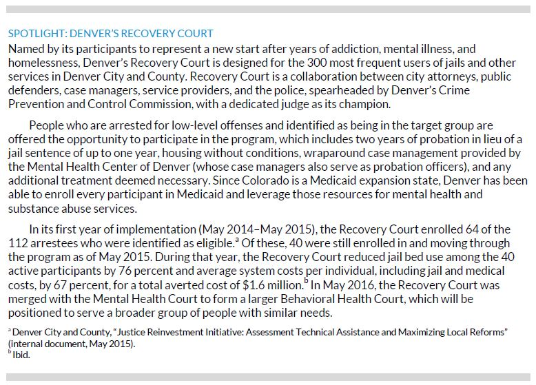 Denver's Recovery Court