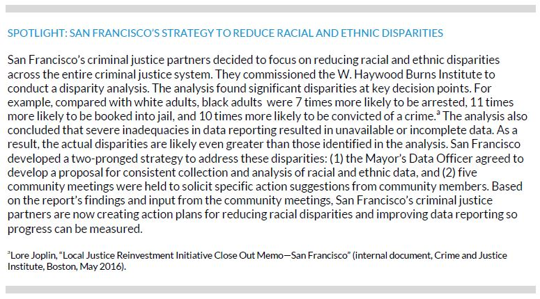 San Francisco's Strategy to Reduce Racial and Ethnic Disparities