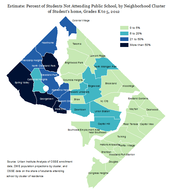 Elementary Enrollment Map